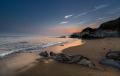 Dusk, Hemmick Beach, Cornwall