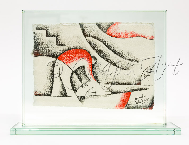 Original drawings in glass