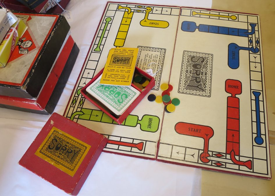 Vintage Board Games at the Sail Loft Emporium