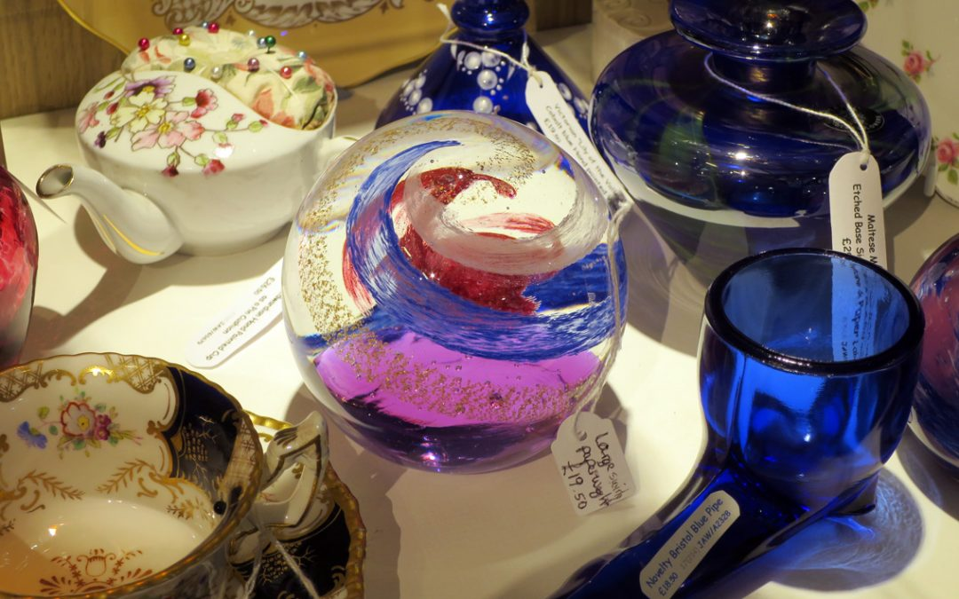 Paperweights at Sail Loft Emporium