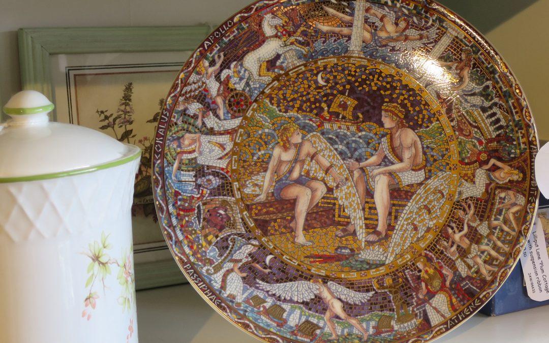 Decorative Plates at Sail Loft Emporium